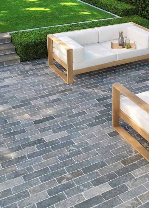 Country Earth Stone Paving