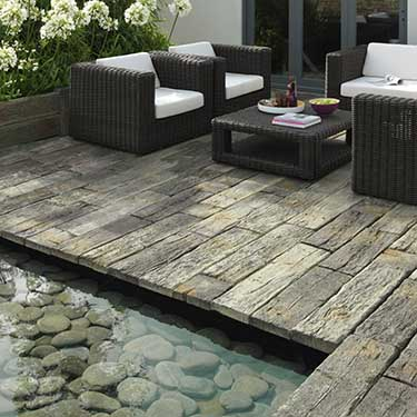 Timberstone Sleepers and Setts Decking