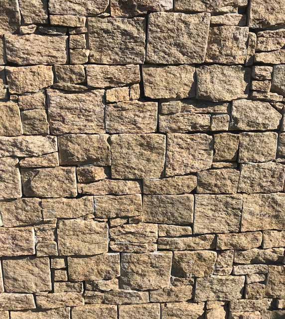 Colorado on mesh stone cladding