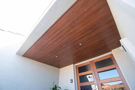 Country Clad Golden Oak Ceining Lining