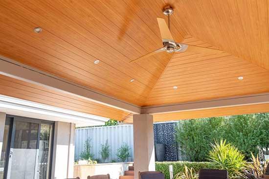 Country Clad Light Cedar Ceiling Lining