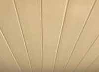 Cream Ceiling Cladding