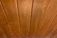 Golden Oak Ceiling Cladding