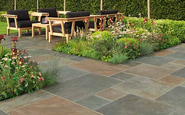 LUCENT COPPER VITRIFIED PAVING