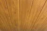Light Cedar Ceiling Cladding