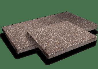 Mocha aggregate pavers