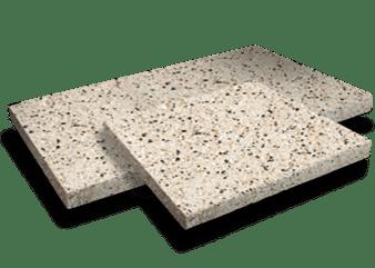 Natural aggregate pavers