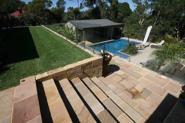Paving Flagstones and Steps