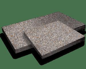 Silver aggregate pavers