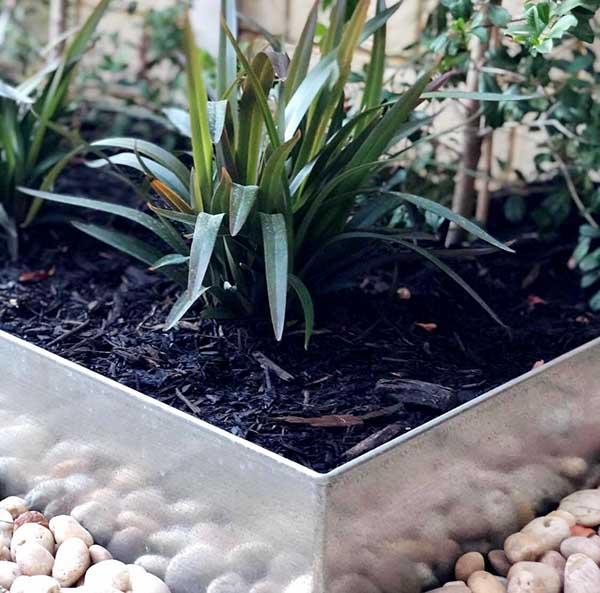 Steel Garden Bed Edging