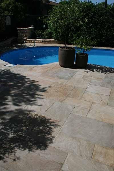 Paving for pools Glenmoor stone